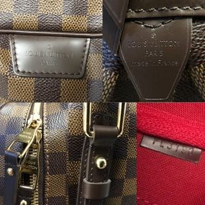 Louis Vuitton Bags - Auth Louis Vuitton Rivington GM Damier Ebene bag